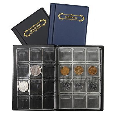 120 Coin Holder Collection Storage Bag Collecting Money Pockets Album Book Hot
