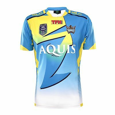 Gold Coast Titans NRL BLK Auckland 9s Nines Jersey Adult & Kids Sizes! 6