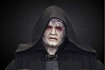 Darth Sidious inspired silicone mask