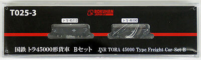Rokuhan T025-3 Z Scale JNR Freight Car TORA 45000 2 Cars Set B