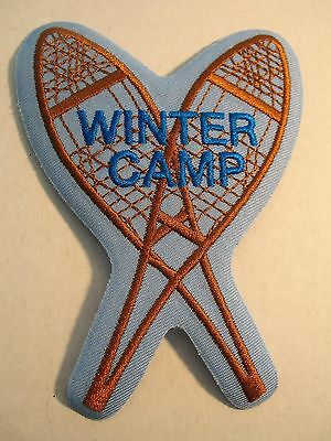Boy Scouts Canada Winter Camp Snowshoe Patch Cubs Beavers