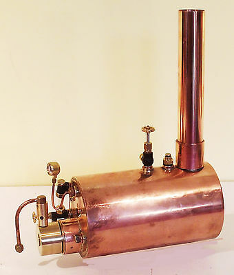 """Live Steam Model Boiler 3.5"""" - New from Pendle Steam Boilers"""
