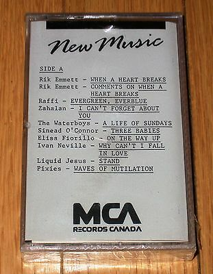 MCA New Music Sampler #16 SEALED 1990 Rare Promo Pixies Sinead Neville Waterboys