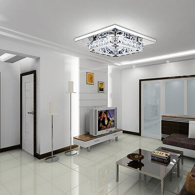 LED Flush Mount Lamp Modern Pendant Light Fixture Lamp for Bedroom Dining Room