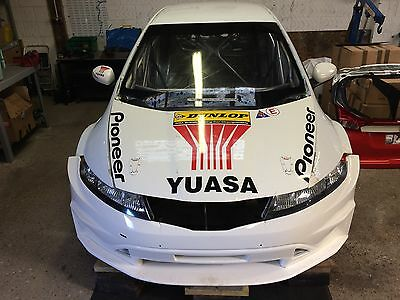 BTCC Honda Civic Type R FN2 Team Dynamics Racecar Rolling Shell Touring  Project