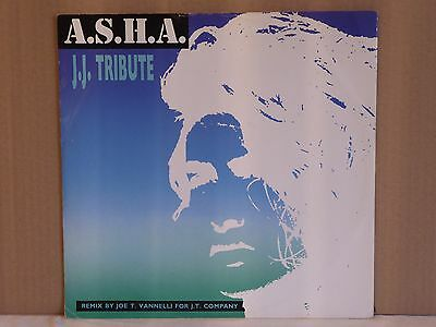 "A.s.h.a. - J.j. Tribute (Remix) 12"" Vinyl Record....."