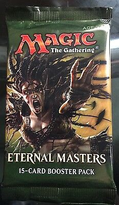 Magic The Gathering Eternal Masters Sealed Booster