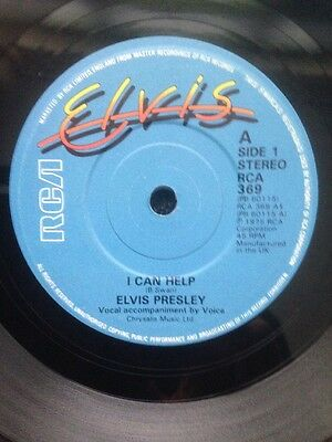 "Elvis Presley - I Can Help / The Lady Loves Me ft. Ann Margret 7"" Vinyl RCA 369"