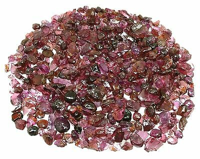 5000 Ct Sparking Rhodolite Garnet 2 Lb Luster Purple Red Facet Rough Lot Parcel