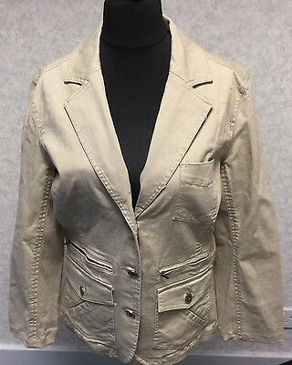 New With Tags, Casual Club, Size 14, Ladies, Beige, Jacket