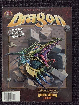AD&D 2nd Edition Dragon Magazine #3 - Annual 1998 - TSR