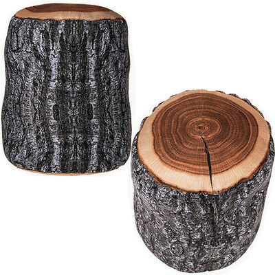 Novelty Tree Log Stomp Fabric Office Door Stop Weighted Stopper Home Sack New