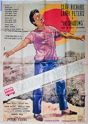 Manifesto, Summer Holiday, Cliff Richard, Lauri Peters & The Shadows, Poster