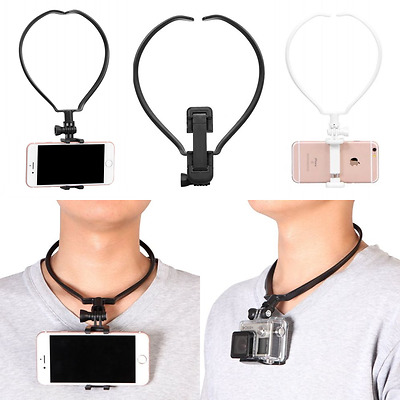 Universal Wearable On Neck Hang GoPro Smart Phone Mount Holder Hand-free For POV