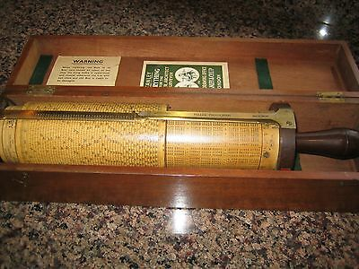 Professor Fuller's Calculator made by W F Stanley