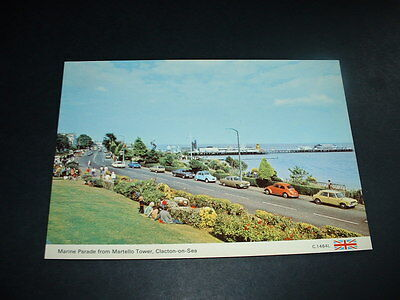 Old  Postcard  Not Posted Combined Postage Clacton On Sea (R7