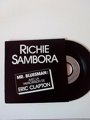 Richie Sambora Mr Bluesman single rare french Eric Clapton Bon Jovi 7""