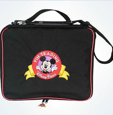 Disney Parks Mickey Mouse Pin Trading Bag New With Tags