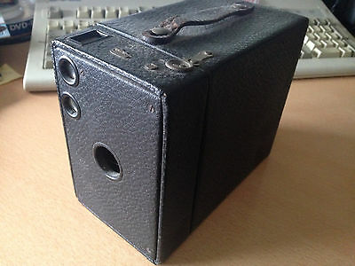 Vintage Eastman Kodak No 2A Box Brownie Camera - age related wear and tear