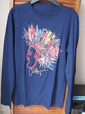 Tee Shirt Manches Longues Desigual Taille M Theme Londres Tbe
