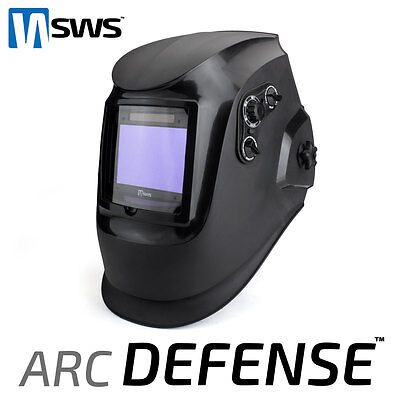 SWS Arc Defense Welding Helmet Auto Darkening