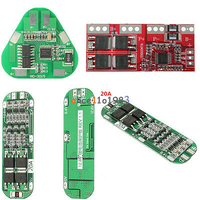 3S 4/5/20/30A Li-ion Lithium Battery 18650 Charger PCB BMS Cell Protection Board
