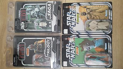 Lot Star Wars The Vintage Collection Greedo,Storm, Boba Feet , Sand people