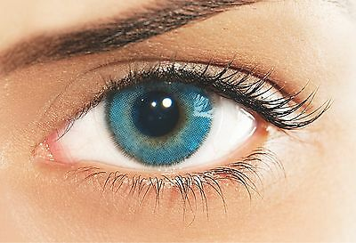 Lentilles De Couleur Bleu SOLOTICA 1 an Natural Azul / Color Lenses 1 Year