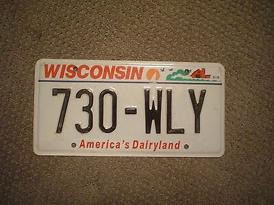 Wisconsin Dairyland      License Plate    Buy All States Here