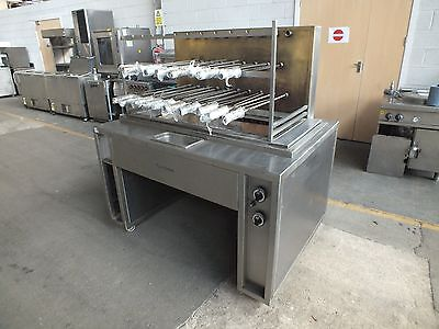 Robata Flame Grill Rotisserie Unit (Natural Gas)