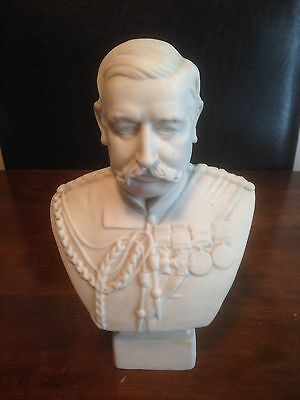 Origional Miniature Bust Of General Sir Redvers Henry Buller In Fair Condition