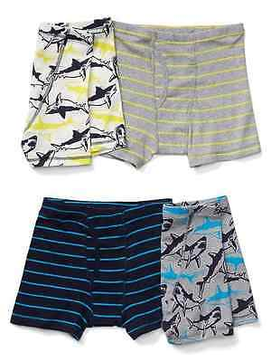 NWT Gap Kids Boys Size M 8 L 10 XL 12 XXL 14-16 Shark Boxer Briefs Underwear