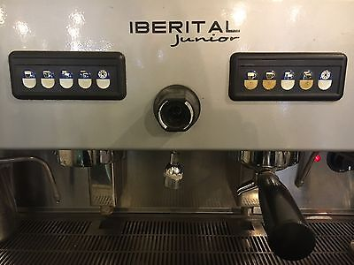 barista  Commercial coffee machine Iberital Junior, 2 Group