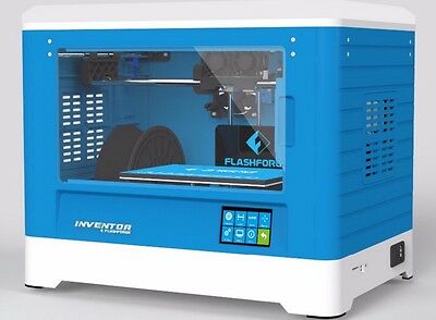 New In Box  FlashForge Inventor 3D Printer Dual ABS/PLA Extruders