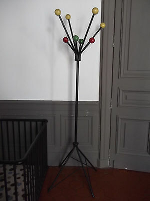 PORTE MANTEAUX BOUQUET de couleur 1950 50 Vintage Design