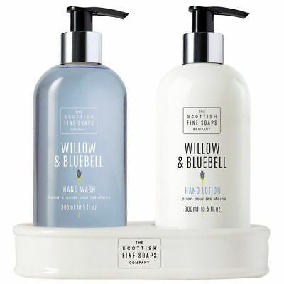 "Scottish Fine Soaps Handpflegeset ""Willow & Bluebell"" 2 x 300ml"