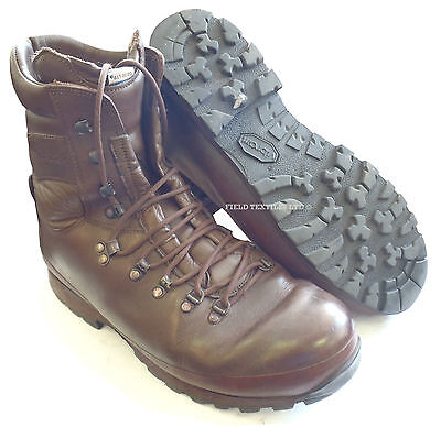 British Army - Altberg Combat Defender Brown Boots - Size 13 Medium - Sn2878
