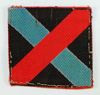 10th Indian Division WW2 Printed Formation Sign Badge