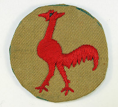 23th Indian Division WW2 Embroidered Formation Sign Badge