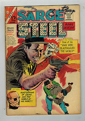 SARGE STEEL COMIC No. 2 - 1965 Charlton Comics