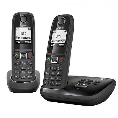 Gigaset AS405A Duo Cordless Phone with Answer Machine
