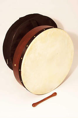 "Irish Bodhran Drum 12"" with Rosewood Body and free bag"