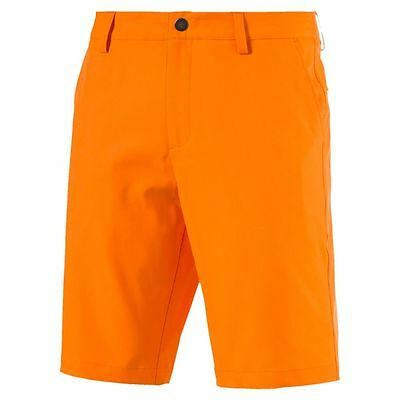 Puma Golf Herren Essential Pounce Shorts Golf Hose orange