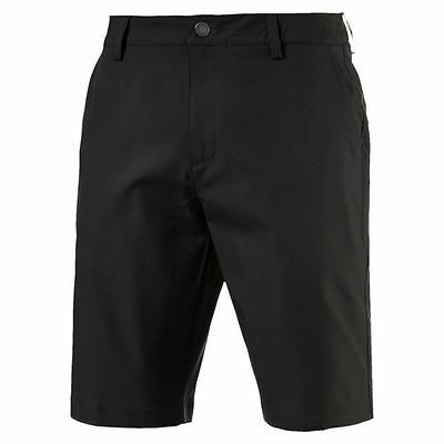 Puma Golf Herren Essential Pounce Shorts Golf Hose schwarz