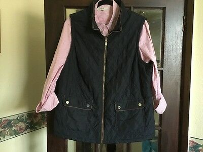 ladies gillet and  shirt size uk 20