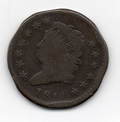 1814 Classic Head Large Cent - free shipping