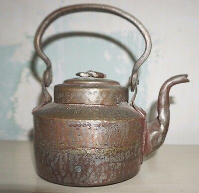 hand hammered kettle