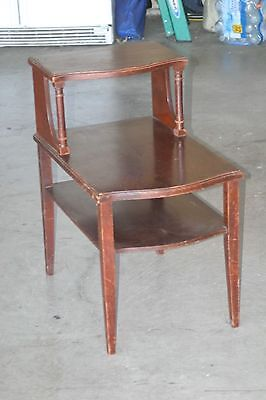 Vintage Mid-Century Mersman Model 7394 End Table/Night Stand Good Condition
