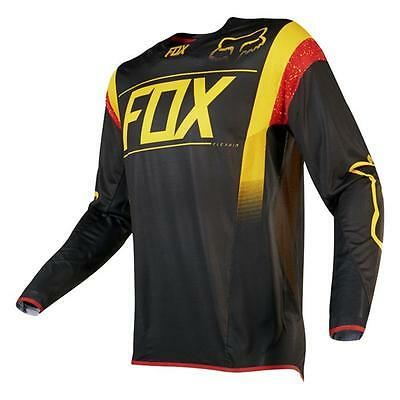 FOX Motocross / MTB Jersey Flexair MXON LE - schwarz Motocross Enduro MX Cross