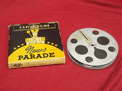 16mm PRINT * NEWS PARADE OF THE YEAR 1955 * MINT COND